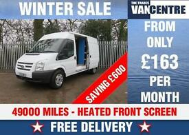 FORD TRANSIT 350 LWB MEDIUM ROOF HEATED FRONT SCREEN WAS £9070 SAVE £600