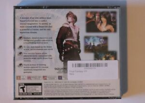 Final Fantasy VIII BRAND New Factory Sealed Windsor Region Ontario image 2