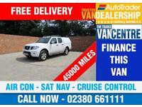 NISSAN NAVARA DCI TEKNA DOUBLE CAB LWB 190 BHP AIR CON SAT NAV 5 SEATS