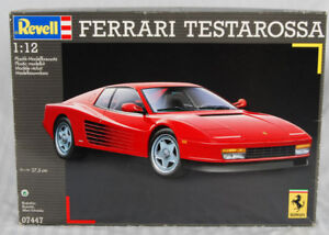 FERRARI Testarossa 1:12 Plastic Model Kit