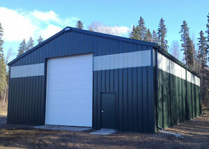 GET YOUR STEEL BUILDING ORDERED BEFORE THE SNOW FALLS!!