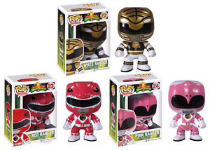 RETIRED Mighty Morphin Power Rangers Funko Pops