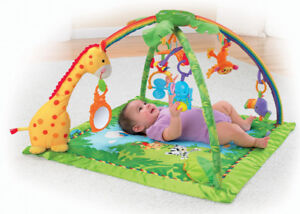 Baby Fisher-Price Rainforest Melodies and Lights Deluxe Gym