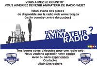 animateur radio benevole rechercher