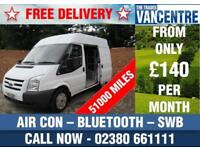 FORD TRANSIT 280 2.2 TDCI SWB MEDIUM ROOF AIR CON PARROT BLUETOOTH 3 SEATS