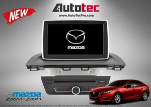 """Mazda 3 OEM 8"""" HD Touch Screen In-Dash GPS DVD System (2014-2016"""