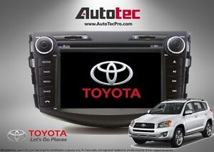 Toyota RAV4 TOUCH SCREEN NAVIGATION GPS and DVD SYSTEM (06 - 12)