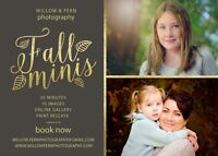 FALL MINI SESSIONS- Photography