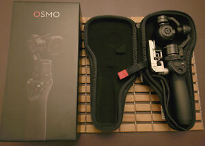 DJI Osmo with accessories.