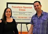 TRAVELERS SPANISH CLASS, 6 wk COURSE,  SEPT 2019  NORTH BAY