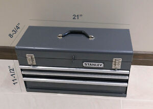 Metal Tool Box - Heavy Duty  - Stanley Brand