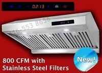 Baffle FilterUnder cabinet Range Hood Kitchen Exhust Fan on Sale