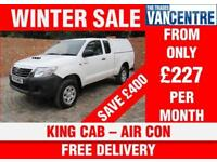 TOYOTA HILUX ACTIVE 4 X 4 EXTRA CAB LWB 144 BHP AIR CON