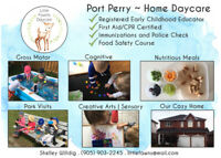 Port Perry Home Daycare