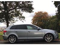 AUDI A3 2.0 TDI S LINE 140 BHP * BARGAIN * NOT BMW, PASSAT CC, GTI, S3, GOLF R, MERCEDES