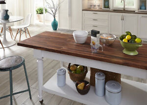 COUNTER TOPS MADE FROM BUTCHER BLOCK