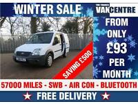 FORD TRANSIT CONNECT T200 SWB AIR CON BLUE TOOTH WAS £5270 SAVE £500