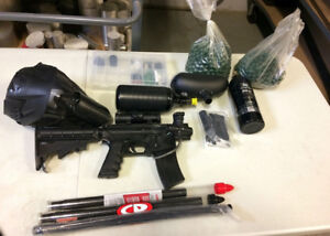 Paintball Marker and Accessories!
