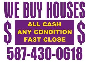 & I want to buy your house fast. No hassle