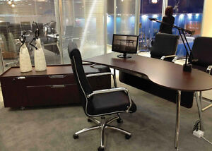 Executive Desks, Workstations, and Filing Cabinets