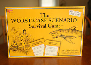 Rare Out of Print 'The Worst-Case Scenario Survival Game,' Mint