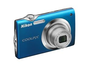 Nikon Coolpix S3000 12 MP Digital Camera with 4x Optical Vibrati