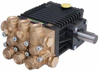 Interpump W154m High Pressure Pump Male Solid Shaft 150 Bar 2175 Psi 12 Lpm