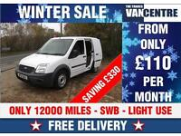 FORD TRANSIT CONNECT 200 SWB 1.8 TDCI ONLY 12000 MILES WAS £6000 SAVE £330