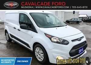 2015 Ford Transit Connect XLT w/o 2nd Row or Rear Door Glass
