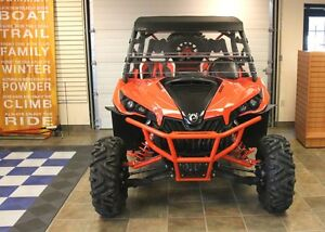 2015 Can-Am Maverick X rs DPS 1000R Black,White  Can-Am Red