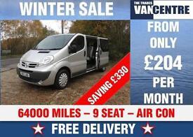NISSAN PRIMASTAR LWB 9 SEAT MINIBUS L2 H1 3000 SE AIR CON WAS £11000 SAVE £330