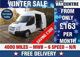 FORD TRANSIT MWB HIGH ROOF 2.2 TDCI 6 SPEED ONLY 4000 MILES WAS £8770 SAVE £300