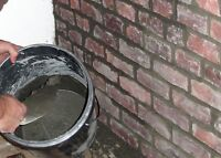 Tuck Pointing/Chimney Repointing/Brick Faces/Insured