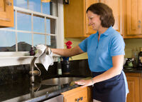 $15-$20 Full Time Maid/Housekeeper required Monday-Friday