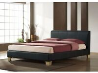 Amazing Leather Single/Double/King Size Beds with Same Day Delivery