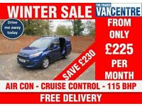 FORD TRANSIT CONNECT 200 L1 H1 LIMITED SWB 115 BHP AIR CON CRUISE CONTROL 3 SEAT