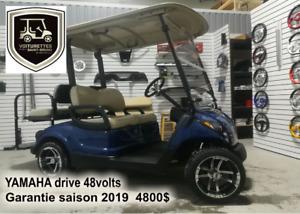 voiturette de golf  Yamaha drive