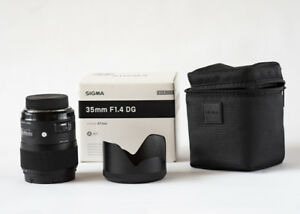 Sigma Art 35mm F 1.4 lens for Nikon
