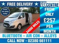 FORD TRANSIT 290 L1 H1 LIMITED SWB 125 BHP BLUETOOTH AIR CON ALLOYS