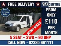 FORD TRANSIT CONNECT T220 1.8 TDCI DOUBLE CAB SWB 5 SEATS