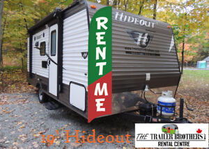 Camping May 17-20, RENT a Travel Trailer