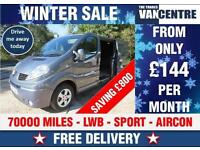 RENAULT TRAFIC LL29 DCI LWB SPORT 2.0 DCI 115 BHP AIR CON WAS £8270 SAVE £800