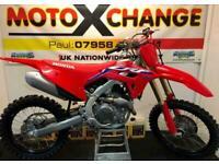 2021 HONDA CRF 450...0.1 HOURS FROM NEW....£7795....MOTO X CHANGE