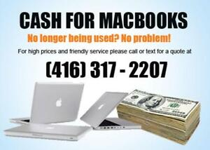 Sell your old Macbook for CASH!