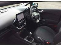 2017 Ford Fiesta 1.1 Zetec Navigation 3 door Hatchback Petrol Manual