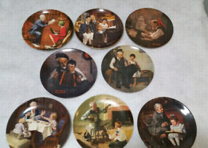 Norman Rockwell Plates. $15/ea obo