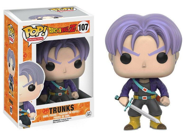 Funko Pop! Animation: DragonBall Z - Trunks Vinyl Figure (new)