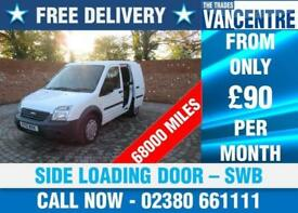 FORD TRANSIT CONNECT T220 1.8 TDCI SWB SIDE LOADING DOOR