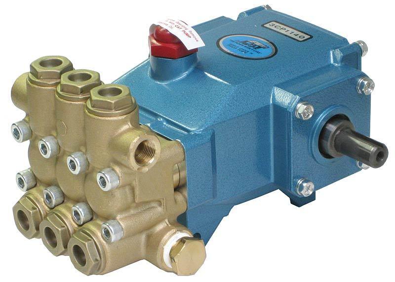 CAT Belt Drive Pressure Pump 3CP1140 2200 PSI 16.5mm Shaft w/ Plumbing