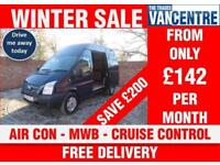 FORD TRANSIT 350 TREND HIGH ROOF TREND MWB 125 BHP AIR CON CRUISE CONTROL 3 SEAT